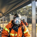 full face mask -PPE silica dust